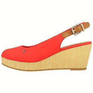 Tommy Hilfiger Iconic Elba Sling Back Wedge