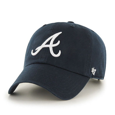 Czapka 47 Brand Atlanta Braves B-RGW01GWS-RA