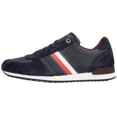 Tommy Hilfiger Iconic Mix Runner  - Sneakersy męskie