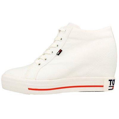 Tommy Hilfiger Wedge Casual Sneakers - Sneakersy damskie na platformie